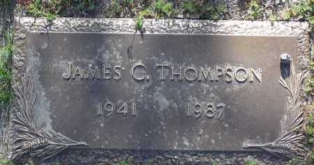 THOMPSON, JAMES CLARK - Yavapai County, Arizona | JAMES CLARK THOMPSON - Arizona Gravestone Photos
