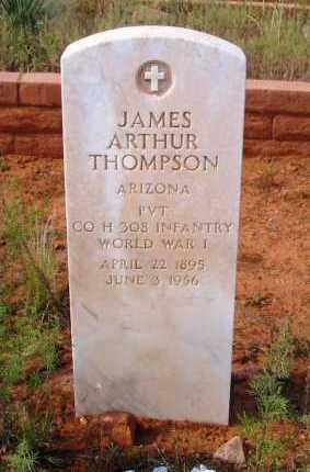 THOMPSON, JAMES ARTHUR - Yavapai County, Arizona | JAMES ARTHUR THOMPSON - Arizona Gravestone Photos