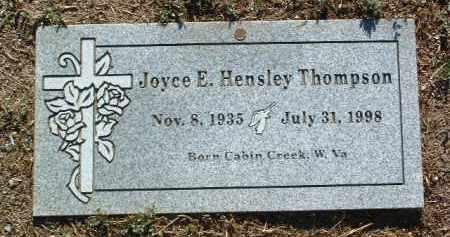 HENSLEY THOMPSON, JOYCE E. - Yavapai County, Arizona | JOYCE E. HENSLEY THOMPSON - Arizona Gravestone Photos