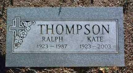 THOMPSON, KATE - Yavapai County, Arizona   KATE THOMPSON - Arizona Gravestone Photos