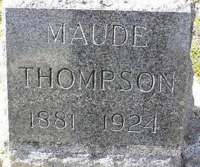 THOMPSON, MAUDE ERNESTINE - Yavapai County, Arizona | MAUDE ERNESTINE THOMPSON - Arizona Gravestone Photos