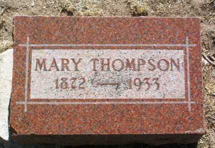 THOMPSON, MARY M. - Yavapai County, Arizona | MARY M. THOMPSON - Arizona Gravestone Photos