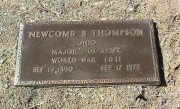 THOMPSON, NEWCOMB B. - Yavapai County, Arizona | NEWCOMB B. THOMPSON - Arizona Gravestone Photos