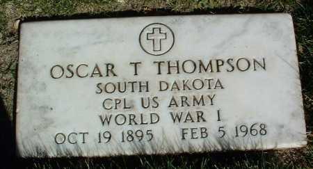 THOMPSON, OSCAR T. - Yavapai County, Arizona | OSCAR T. THOMPSON - Arizona Gravestone Photos