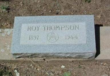 THOMPSON, ROY - Yavapai County, Arizona | ROY THOMPSON - Arizona Gravestone Photos