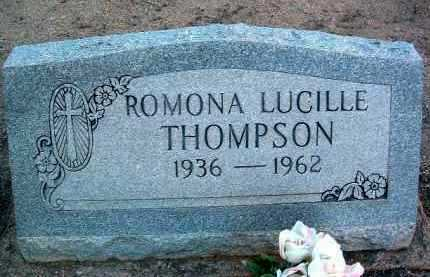 THOMPSON, RAMONA LUCILLE - Yavapai County, Arizona | RAMONA LUCILLE THOMPSON - Arizona Gravestone Photos