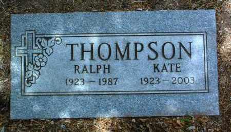 THOMPSON, RALPH HORACE - Yavapai County, Arizona | RALPH HORACE THOMPSON - Arizona Gravestone Photos