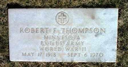 THOMPSON, ROBERT F. - Yavapai County, Arizona | ROBERT F. THOMPSON - Arizona Gravestone Photos