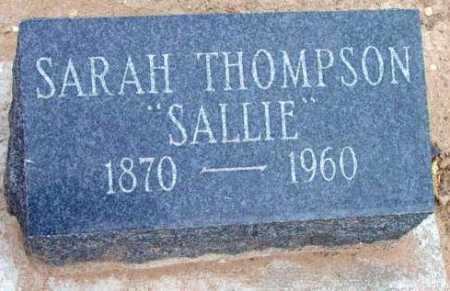 THOMPSON, SARAH ELLEN - Yavapai County, Arizona | SARAH ELLEN THOMPSON - Arizona Gravestone Photos