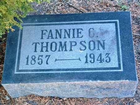 THOMPSON, SARAH FRANCES - Yavapai County, Arizona   SARAH FRANCES THOMPSON - Arizona Gravestone Photos
