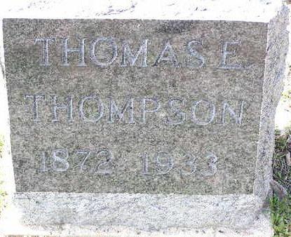THOMPSON, THOMAS E. - Yavapai County, Arizona | THOMAS E. THOMPSON - Arizona Gravestone Photos