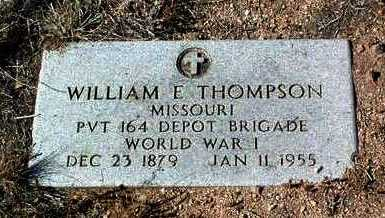 THOMPSON, WILLIAM E. - Yavapai County, Arizona | WILLIAM E. THOMPSON - Arizona Gravestone Photos