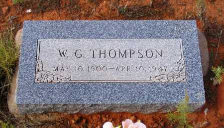 THOMPSON, WASHINGTON G. - Yavapai County, Arizona | WASHINGTON G. THOMPSON - Arizona Gravestone Photos