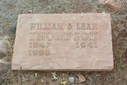THOMPSON, WILLIAM N. - Yavapai County, Arizona | WILLIAM N. THOMPSON - Arizona Gravestone Photos