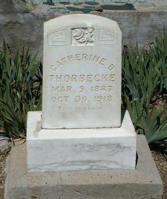 FITZGERALD THORBECKE, CATHERINE BRIDGET - Yavapai County, Arizona | CATHERINE BRIDGET FITZGERALD THORBECKE - Arizona Gravestone Photos