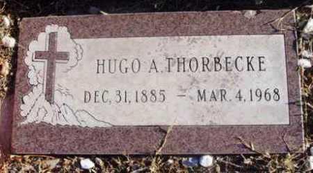 THORBECKE, HUGO A. - Yavapai County, Arizona   HUGO A. THORBECKE - Arizona Gravestone Photos