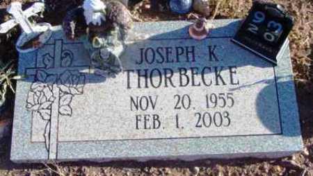 THORBECKE, JOSEPH KIRK - Yavapai County, Arizona   JOSEPH KIRK THORBECKE - Arizona Gravestone Photos