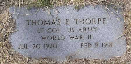THORPE, THOMAS EDWARD, JR. - Yavapai County, Arizona | THOMAS EDWARD, JR. THORPE - Arizona Gravestone Photos
