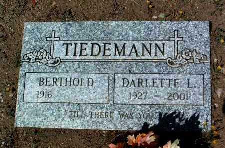 LIETZMANN TIEDEMANN, DARLETTE LORENE - Yavapai County, Arizona | DARLETTE LORENE LIETZMANN TIEDEMANN - Arizona Gravestone Photos