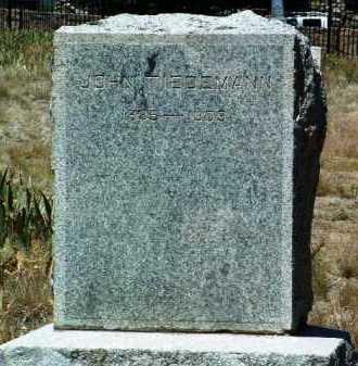 TIEDEMANN, JOHN - Yavapai County, Arizona   JOHN TIEDEMANN - Arizona Gravestone Photos