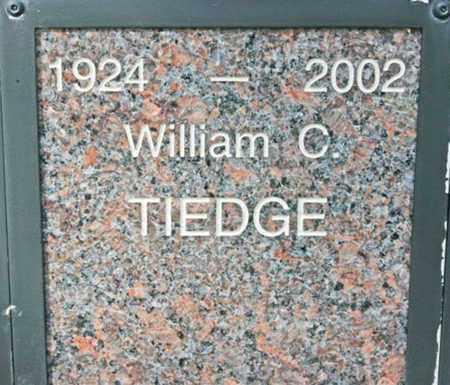 TIEDGE, WILLIAM C. - Yavapai County, Arizona | WILLIAM C. TIEDGE - Arizona Gravestone Photos