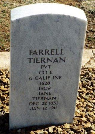 TIERNAN, FARRELL - Yavapai County, Arizona | FARRELL TIERNAN - Arizona Gravestone Photos