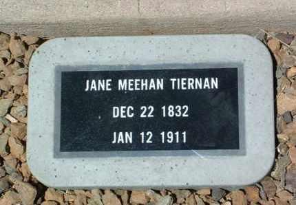 MEEHAN TIERNAN, JANE - Yavapai County, Arizona | JANE MEEHAN TIERNAN - Arizona Gravestone Photos