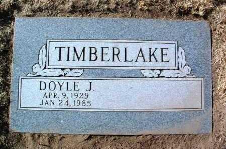 TIMBERLAKE, DOYLE J. - Yavapai County, Arizona | DOYLE J. TIMBERLAKE - Arizona Gravestone Photos