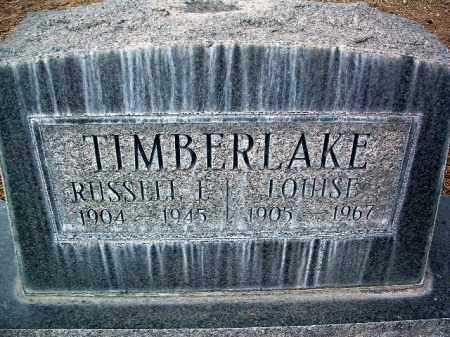 WEBB TIMBERLAKE, LOUISE - Yavapai County, Arizona | LOUISE WEBB TIMBERLAKE - Arizona Gravestone Photos