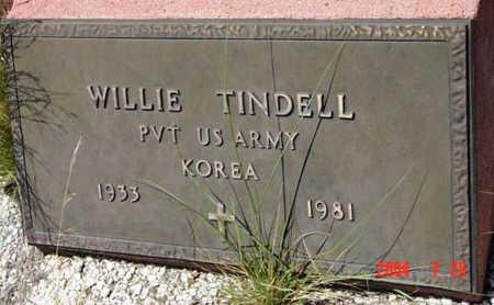 TINDELL, WILLIE - Yavapai County, Arizona | WILLIE TINDELL - Arizona Gravestone Photos