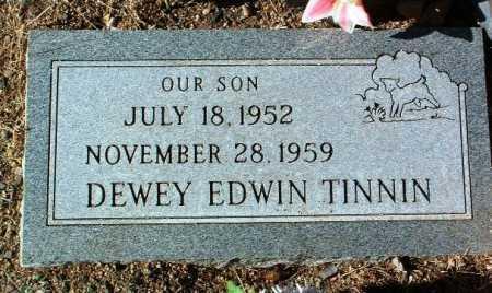 TINNIN, DEWEY EDWIN - Yavapai County, Arizona | DEWEY EDWIN TINNIN - Arizona Gravestone Photos