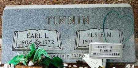 TINNIN, EARL L. - Yavapai County, Arizona | EARL L. TINNIN - Arizona Gravestone Photos