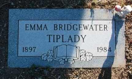 BRIDGEWATER TIPLADY, EMMA MARGARET - Yavapai County, Arizona | EMMA MARGARET BRIDGEWATER TIPLADY - Arizona Gravestone Photos