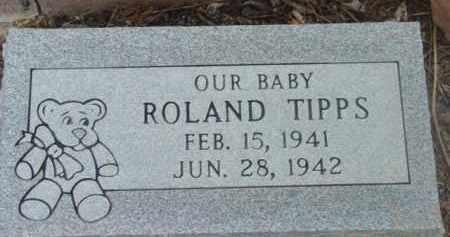 TIPPS, JAMES ROLAND - Yavapai County, Arizona | JAMES ROLAND TIPPS - Arizona Gravestone Photos