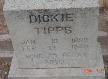 TIPPS, RICHARD CLINTON (DICKIE) - Yavapai County, Arizona | RICHARD CLINTON (DICKIE) TIPPS - Arizona Gravestone Photos