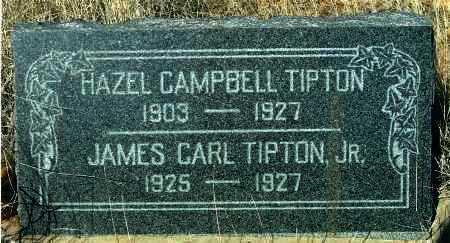 CAMPBELL TIPTON, HAZEL V. - Yavapai County, Arizona | HAZEL V. CAMPBELL TIPTON - Arizona Gravestone Photos