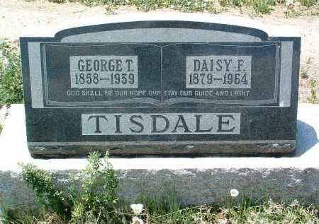 TISDALE, GEORGE TUCKER - Yavapai County, Arizona | GEORGE TUCKER TISDALE - Arizona Gravestone Photos