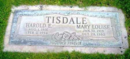 TISDALE, MARY LOUISE - Yavapai County, Arizona   MARY LOUISE TISDALE - Arizona Gravestone Photos