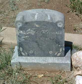 TISDALE, INFANT - Yavapai County, Arizona | INFANT TISDALE - Arizona Gravestone Photos