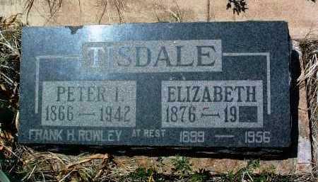 TISDALE, PETER I. - Yavapai County, Arizona | PETER I. TISDALE - Arizona Gravestone Photos