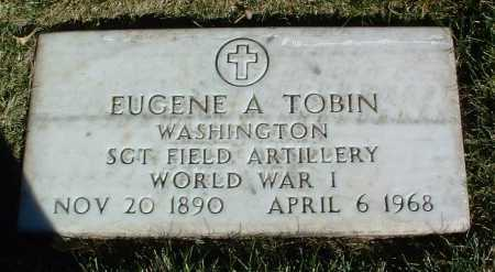 TOBIN, EUGENE A. - Yavapai County, Arizona | EUGENE A. TOBIN - Arizona Gravestone Photos