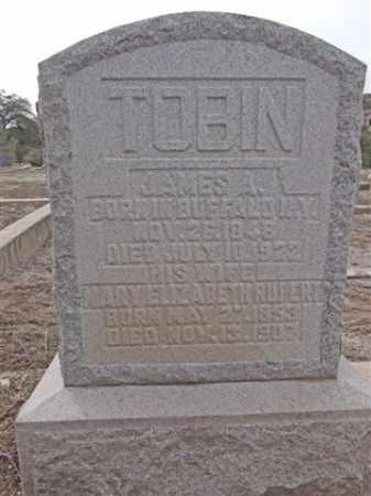 TOBIN, JAMES A. - Yavapai County, Arizona | JAMES A. TOBIN - Arizona Gravestone Photos