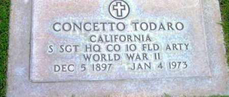 TODARO, CONCETTO - Yavapai County, Arizona | CONCETTO TODARO - Arizona Gravestone Photos