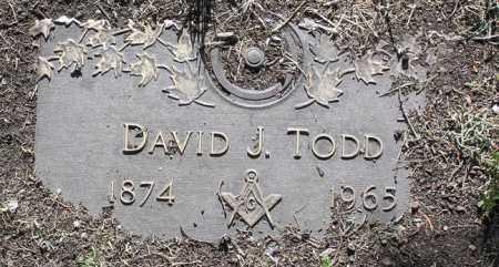TODD, DAVID J. - Yavapai County, Arizona   DAVID J. TODD - Arizona Gravestone Photos