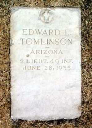 TOMLINSON, EDWARD L. - Yavapai County, Arizona | EDWARD L. TOMLINSON - Arizona Gravestone Photos