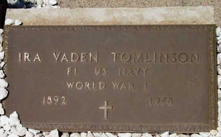 TOMLINSON, IRA VADEN - Yavapai County, Arizona | IRA VADEN TOMLINSON - Arizona Gravestone Photos