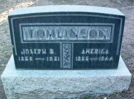TOMLINSON, JOSEPH B. - Yavapai County, Arizona   JOSEPH B. TOMLINSON - Arizona Gravestone Photos