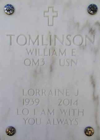 TOMLINSON, LORRAINE J. - Yavapai County, Arizona | LORRAINE J. TOMLINSON - Arizona Gravestone Photos