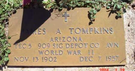 TOMPKINS, JAMES ALVIN - Yavapai County, Arizona | JAMES ALVIN TOMPKINS - Arizona Gravestone Photos