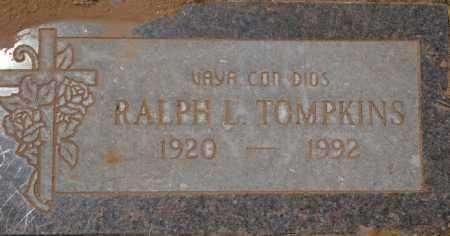 TOMPKINS, RALPH LEO - Yavapai County, Arizona | RALPH LEO TOMPKINS - Arizona Gravestone Photos